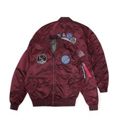 알파인더스트리 MA-1 아폴로 배틀워시 COMMANDER RED_(201868934)