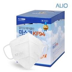 알리오 KF94 황사마스크 에어클린 40매_(1072102)