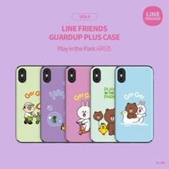 LINE FRIENDS정품 가드업플러스 플레이 인 더 파크 시리즈 ver.4