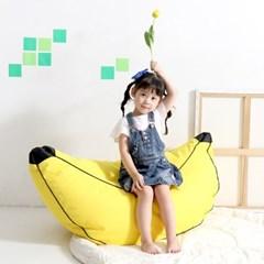 바나나 빈백 유아소파_(2091396)