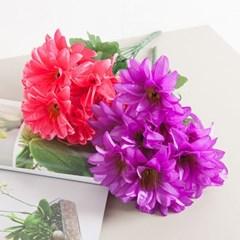 심플다알리아부쉬 50cm 조화 성묘 꽃 인테리어 FAGAFT_(1436904)