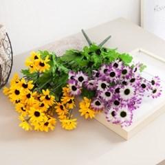 14대데이지부쉬o 50cm FAIAFT 조화 꽃 인테리어소품_(1436221)