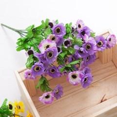 모스데이지부쉬o 50cm FAIAFT 조화 꽃 인테리어소품_(1436220)