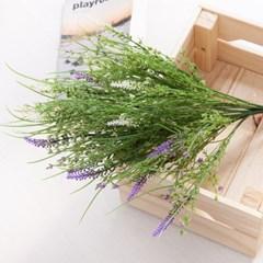 카밀라벤다부쉬o 50cm FAIAFT 조화 꽃 인테리어소품_(1436218)