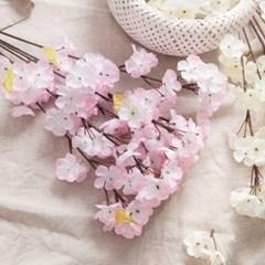 프라임벚꽃부쉬 54cm FAIAFT 조화 꽃 인테리어소품_(1436217)