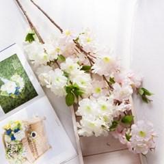 체르니왕벚꽃가지 86cm FAIAFT 조화 꽃 인테리어소품_(1436213)