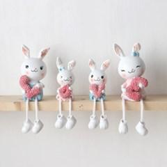 토끼가족 러브 인형(4p set)