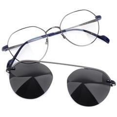 트리시클로 명품 편광 클립온 안경테 선글라스 TDC3035-04(52)