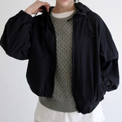 light texture hoodie jumper (black)_(1331663)