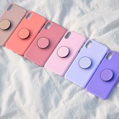 단색 하드 스마트톡 케이스 세트 갤럭시S 노트 5 8 9 10