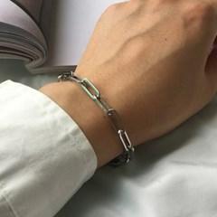 남자 패션 팔찌 써지컬 스틸 심플 힙합 chain brace_(997980)