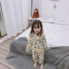 돌핀웨일 브이카라전타 파자마 세트(80~120cm)