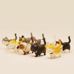 귀요미 고양이 피규어 미니어쳐 9종세트