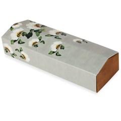 전통민화 흰꽃 기다란 상자 (2개)