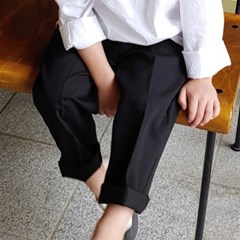 츄) 댄디 주름 아동 슬랙스