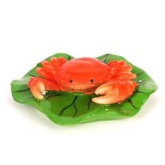 꽃게 기포발생 장식품(소) - 어항장식품 어항셋팅_(955870)