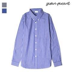 [세븐퍼센트] 스트라이프 옥스포드 셔츠 570_(859839)