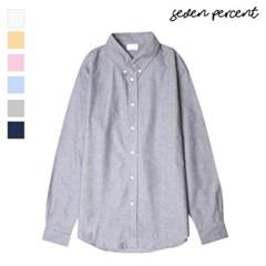 [세븐퍼센트] 베이직컬러 옥스포드 셔츠 569_(859840)