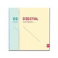 DIGITAL NOTEBOOK 스프링 바인딩(Mint/Yellow)