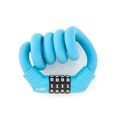 ULac 실리콘메모리락 자전거 자물쇠 (번호형 블루)_(1083487)