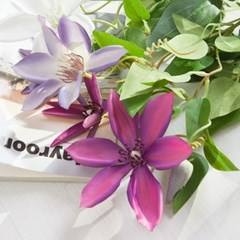 식스클래마티스가지o 73cm FAIAFT 조화 꽃 인테리어_(1446047)