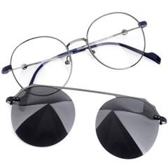 트리시클로 명품 편광 클립온 안경테 선글라스 TDC3047-04(51)