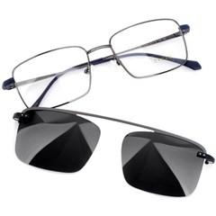 트리시클로 명품 편광 클립온 안경테 선글라스 TDC3046-04(52)