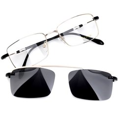 트리시클로 명품 편광 클립온 안경테 선글라스 TDC3043-02(53)