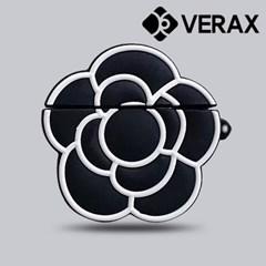 에어팟1 2 블랙 럭셔리 실리콘 이어폰 케이스 EC032_(1856490)