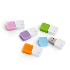 소프티 softie 128G 플래티넘 실리콘 USB메모리