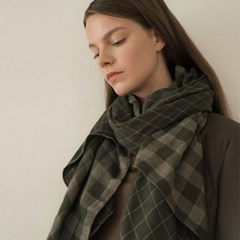 chester scarf-khaki