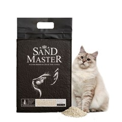 샌드마스터 크랙형 고양이 두부모래 바나나 2.8kg(7L)