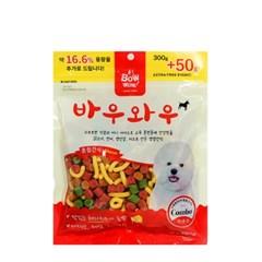 바우와우 혼합간식 350g 강아지간식/국내산/노즈워크_(789054)