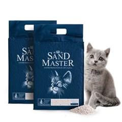 샌드마스터 고양이 두부모래 오리지널 2.8kg x 2개