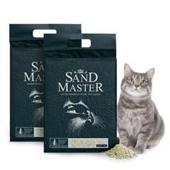 샌드마스터 고양이 두부모래 녹차 2.8kg x 2개