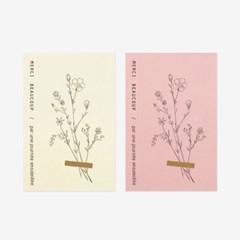 들꽃 멕시 스티커(10개)