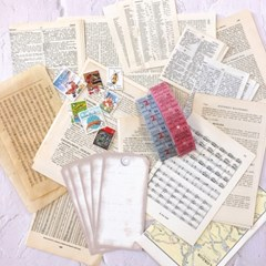 Vintage Collage Assortment Package