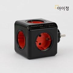 파워큐브 오리지널 올컬러 블랙 멀티탭 콘센트