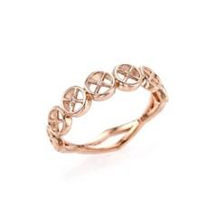 [윗치비쥬] 라운드 다이아몬드 14k 반지_(1316992)