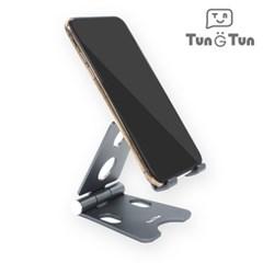 툰툰 알루미늄 휴대폰 핸드폰 테블릿 거치대 (소)_(401010570)