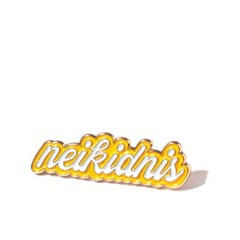 LETTERING PIN / YELLOW