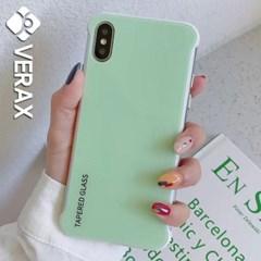 아이폰6S 화이트 프래임 글라스 하드 케이스 P064_(1875705)