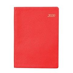 2020년 포켓다이어리 세미 천연 S레드 데일리 [O1618]