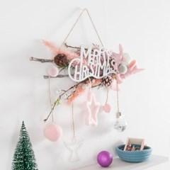 팜파스핑크별갈란드 50cmP 크리스마스 가랜드 TRWGHM_(1452293)