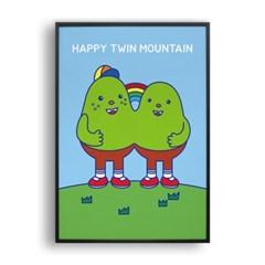 행복한 쌍둥이산