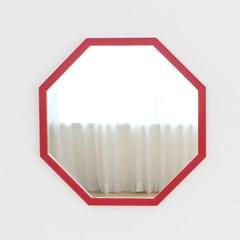 레인보우 정팔각 벽거울