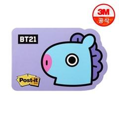 BT21 포스트잇 강한점착용 모양노트 654_망