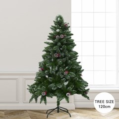 크리스마스 스노 빈터 화이트 크리스마스 트리 120cm_(2158657)