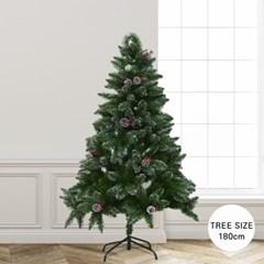 크리스마스 스노 빈터 화이트 크리스마스 트리 180cm_(2158655)