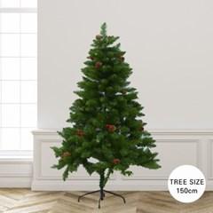 크리스마스 울리 트래드 그린 크리스마스 트리 150cm_(2158653)